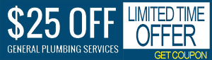 $25 off general plumbing services coupon